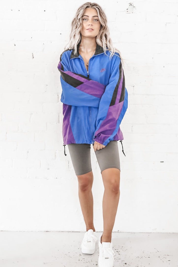 VINTAGE Color Block Nike Windbreaker 109