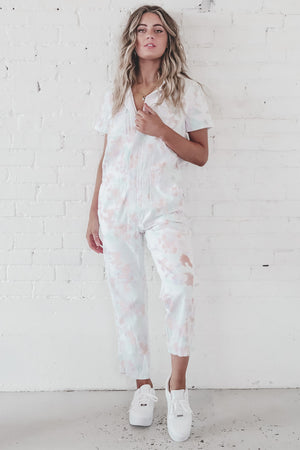 Bad For Me Tie Dye Jumpsuit
