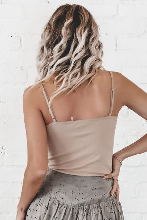 Kinda Racy Nude Lace Cami