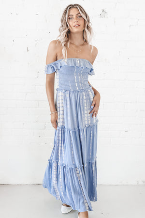 Drop It To The Floor Tie Dye Maxi