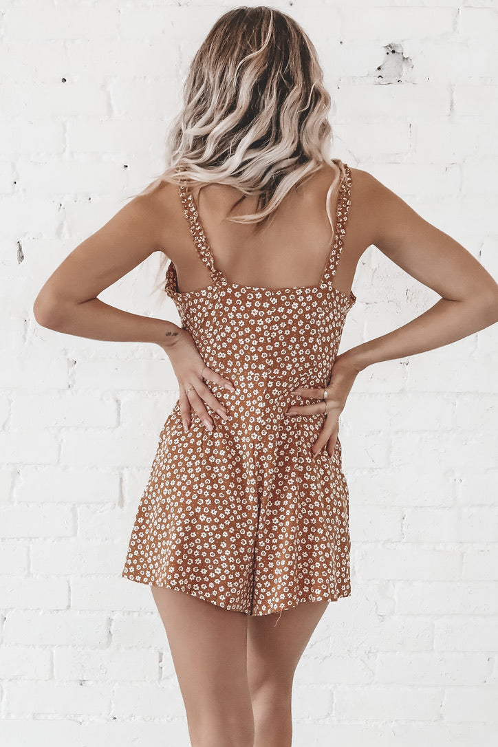 School's Out Little Camel Romper