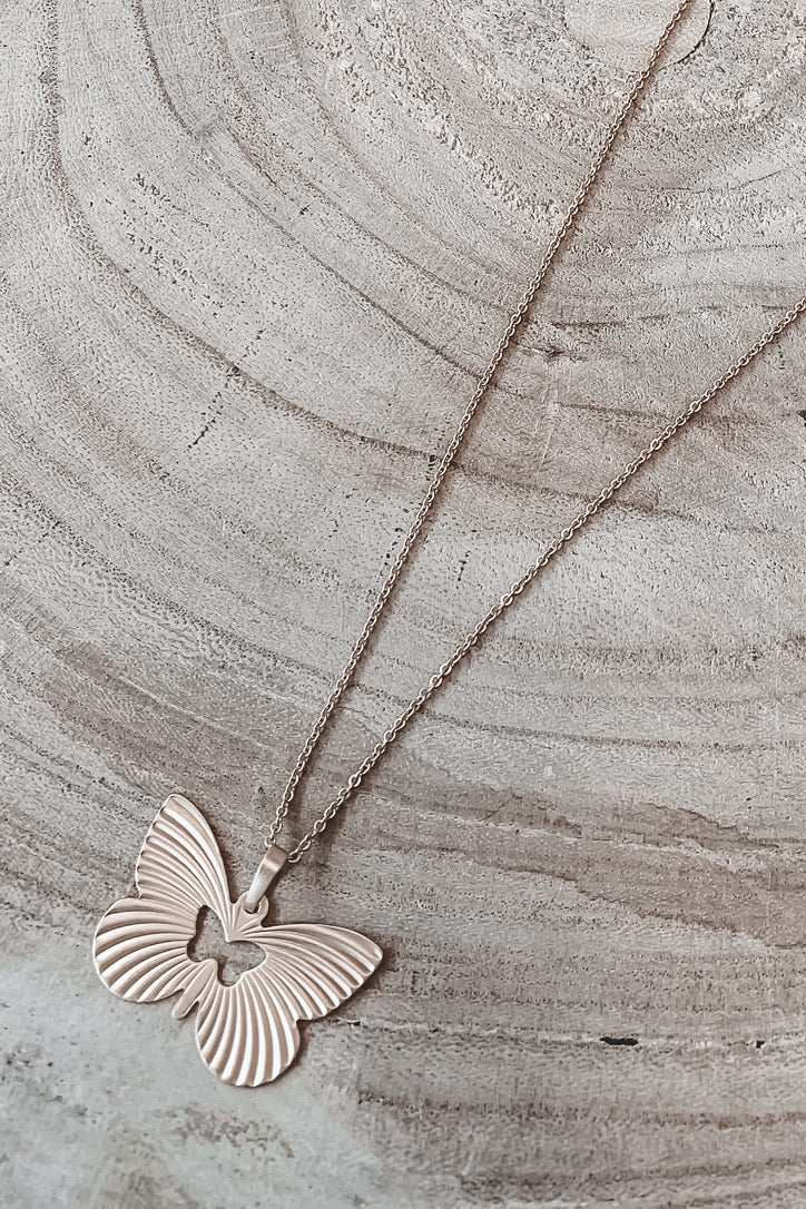 Find The Butterfly Gold Necklace