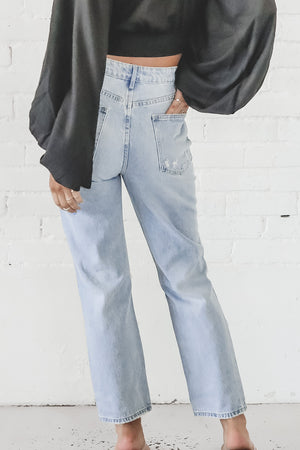 Doing Things Distressed Boyfriend Jeans