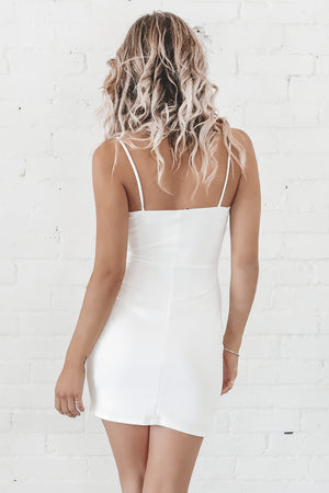 It's My Party White Bodycon Dress