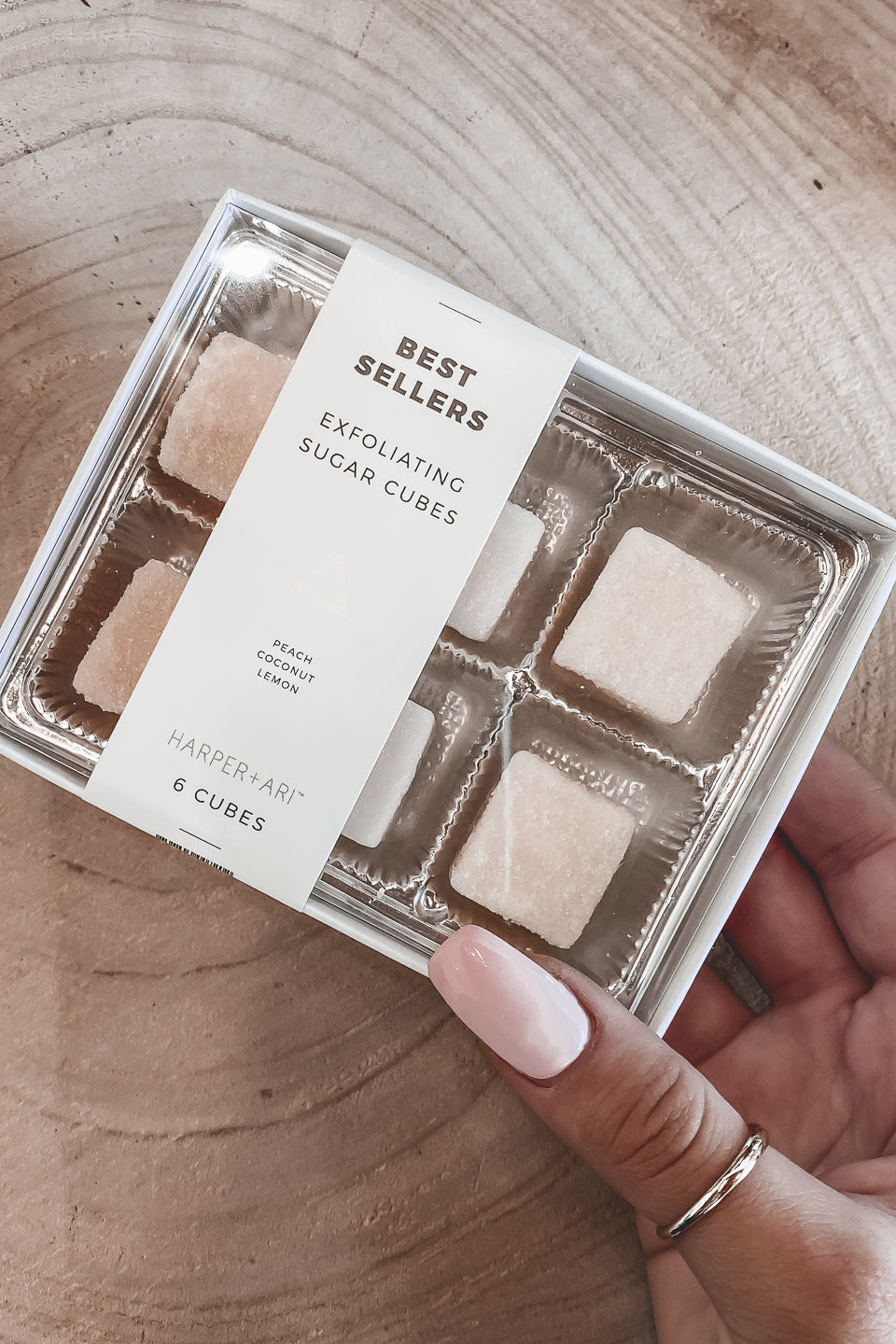 Exfoliating Sugar Cubes Box Set