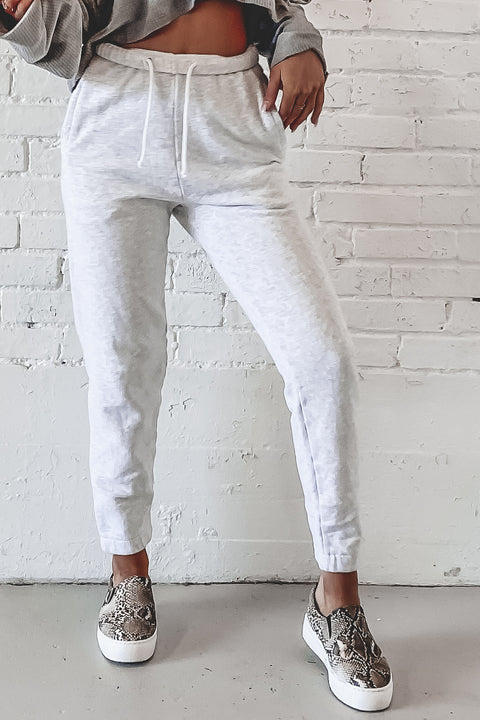 JOAH BROWN Gray Empire Jogger