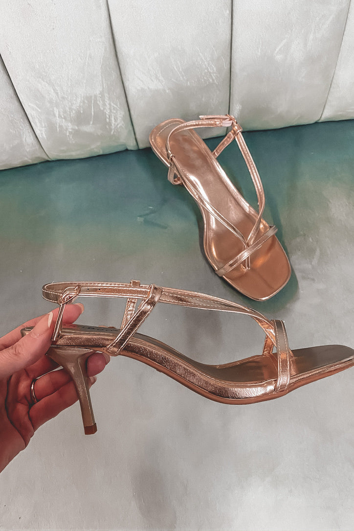Always A Good Time Gold Heels