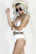 Water Sign Ivory One Piece Swimsuit