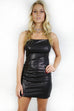 Hollywood Boulevard Black Sequin Dress - Amazing Lace