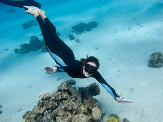PADI Free Diving Course - Frog Dive