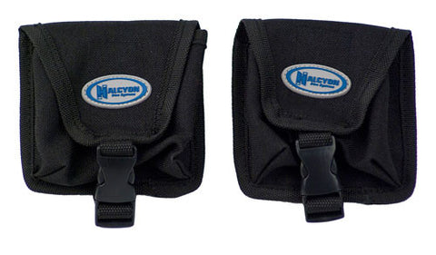 Halcyon Tank Mounted Trim Weight Pockets - Pair (2.2kg capacity)