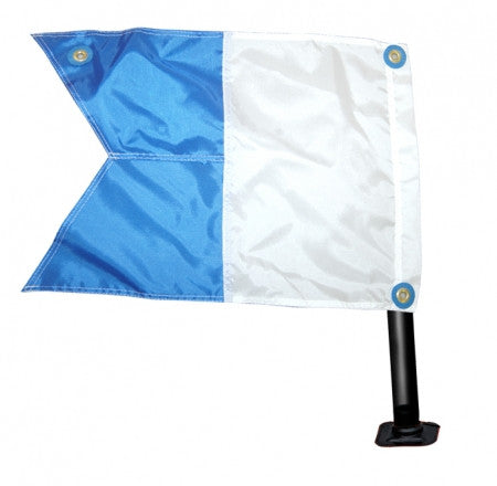 Ocean Hunter Flag and Pole