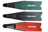 Pelagic Spirit Spearfishing and Freediving Fins (Green)