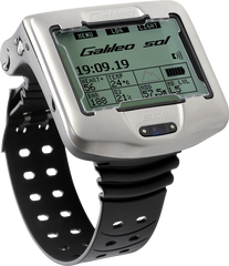 Scubapro Galileo SOL Wrist Mounted Dive Computer with Transmitter