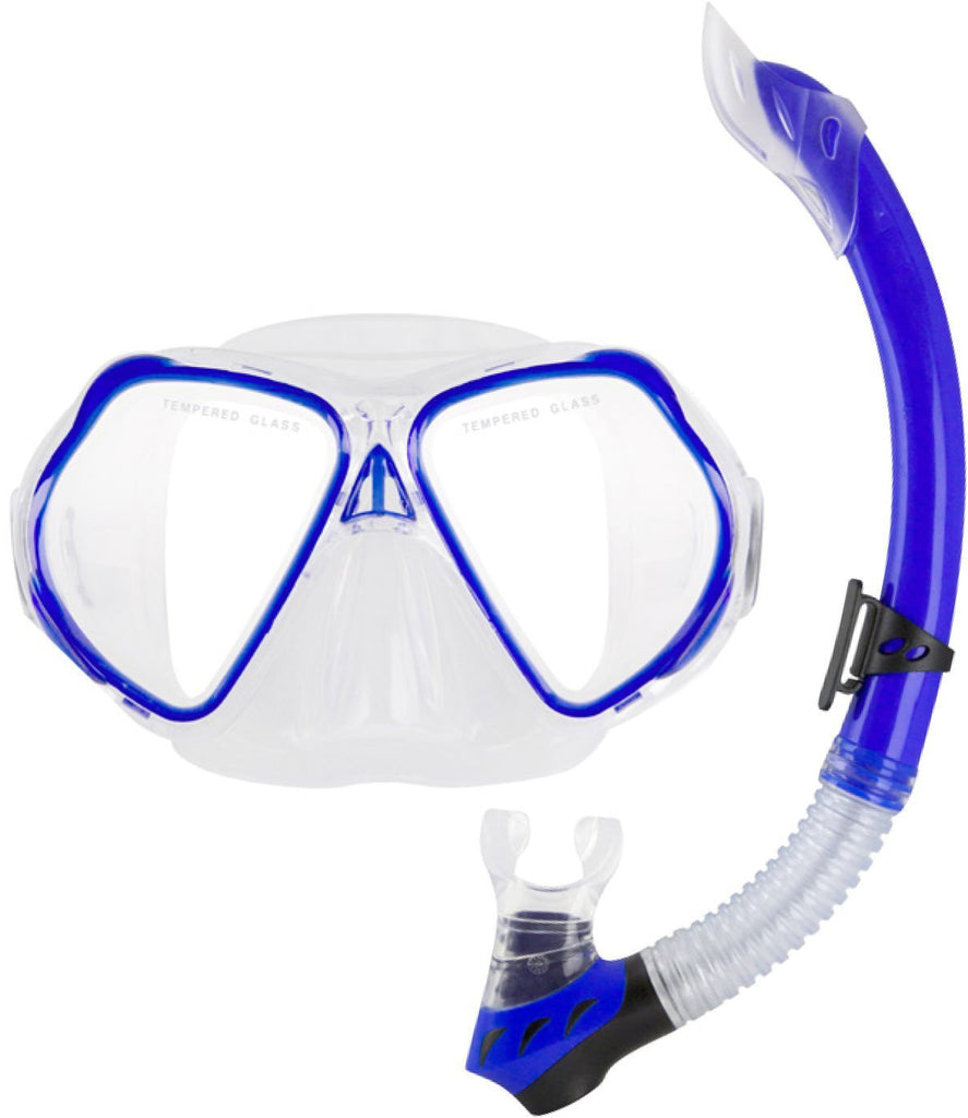 3d04f750345 Ocean Pro Seahorse Child/Youth Mask and Snorkel Set – Frog Dive ...