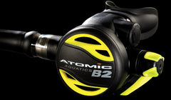 ATOMIC AQUATICS B2 SECOND STAGE / SAFE SECOND OCTOPUS REGULATOR