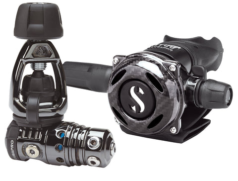 Scubapro MK25 EVO / A700 Carbon Black Tech Regulator System