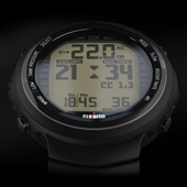 Suunto DX Black Air Integrated Dive Computer