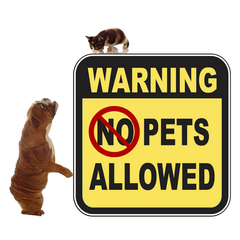 No Pets Allowed... Not