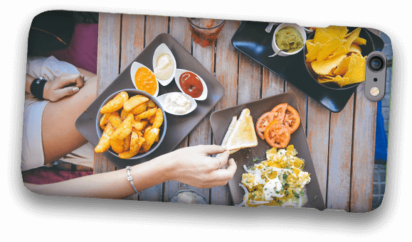 Food Photo on Phone Case