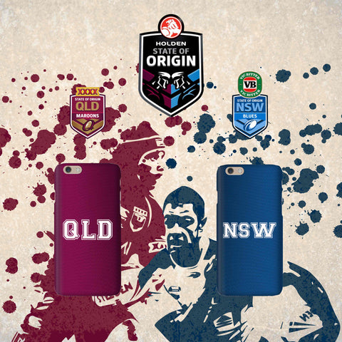 State of Origin Jersey Phone Case
