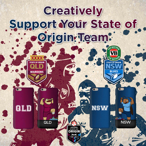 State of Origin Phone Case iPersonalised