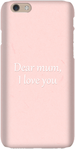 Dear Mum - iPersonalised