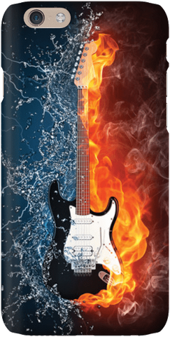 Fire and Ice Guitar - iPersonalised