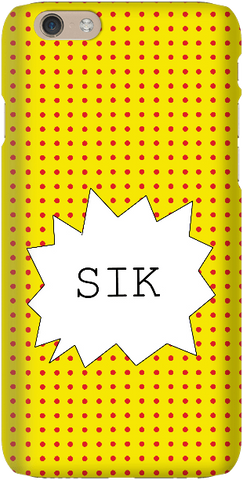 Sik - Yellow - iPersonalised