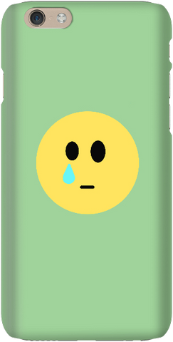 Sad Face - Light Green - iPersonalised
