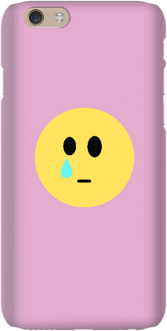Sad Face - Light Pink - iPersonalised