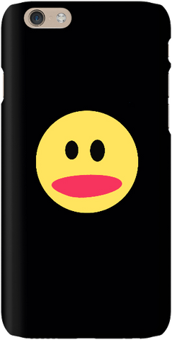 Smiley Face - Black - iPersonalised
