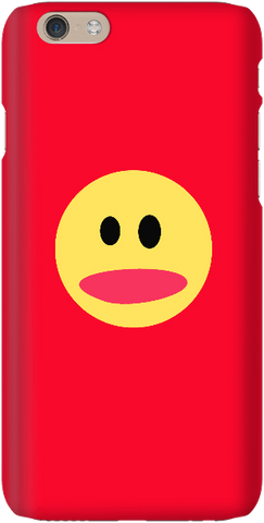 Smiley Face - Red - iPersonalised