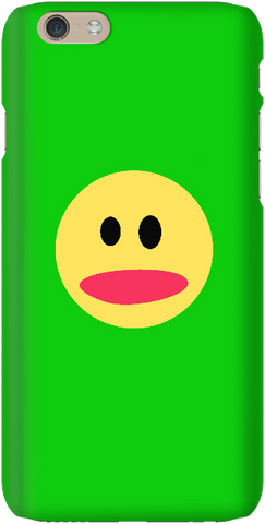Smiley Face - Bright Green - iPersonalised