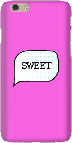 Speech bubble - Hot Pink - iPersonalised