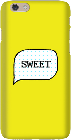 Speech Bubble - Yellow - iPersonalised