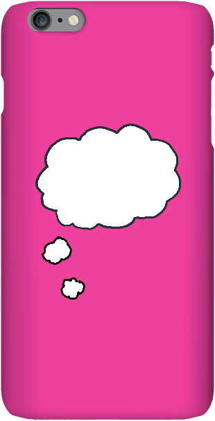 Thinking thoughts-Hot Pink - iPersonalised