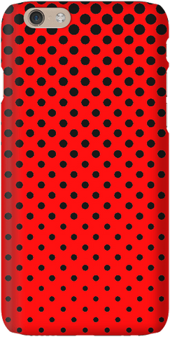 Totally Dotty - Black / Red - iPersonalised