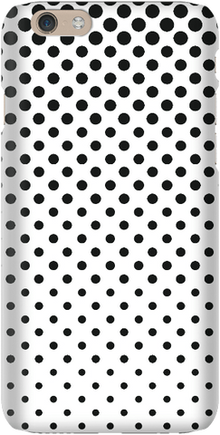 Totally Dotty Black / White - iPersonalised