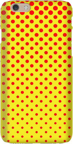Totally Dotty - Red/Yellow - iPersonalised