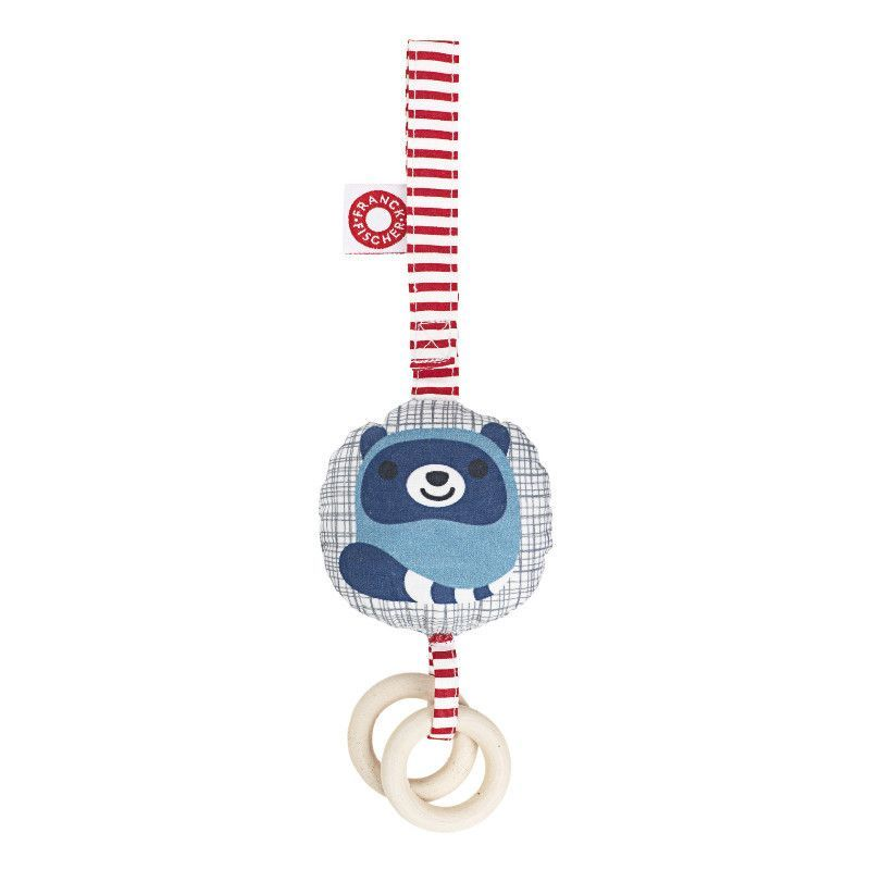 Franck & Fischer - Vega Blue Activity Rattle - Rattle - Bmini | Design for Kids