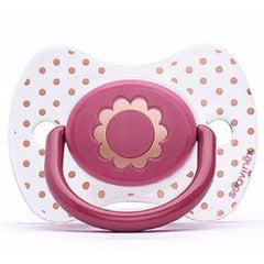 Suavinex - Haute Couture pacifier Pink Flower - Pacifier - Suavinex - Bmini - Design for Kids