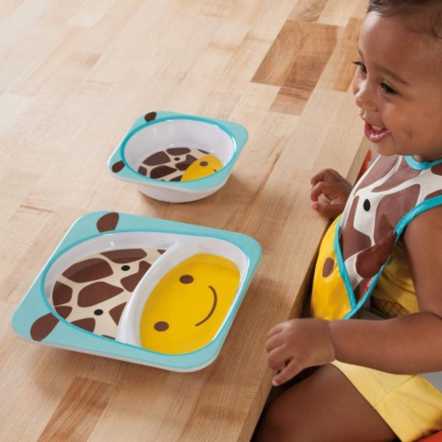 Skip Hop - Bowl - Giraffe - Plates - Bmini | Design for Kids