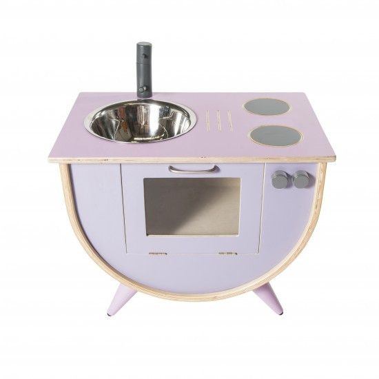Sebra - Play kitchen - pink/lilac - Toys - Sebra - Bmini - Design for Kids - 1