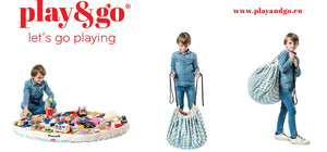 Play & Go - Play Mat and Toy Storage Bag - Diamond Blue - Play Mat - Bmini | Design for Kids