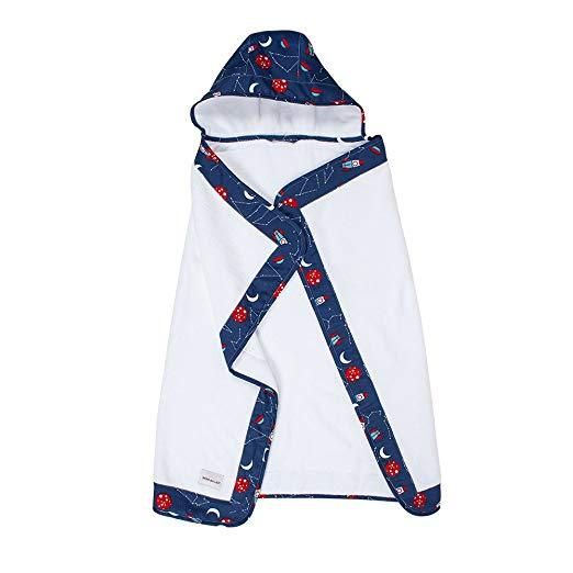 Bébé au lait, Hooded Towel Apollo - Towel - Bmini | Design for Kids