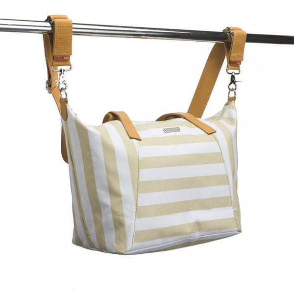 Storksak Noa - stripe fawn diaper bag - Diaper bags - Storksak - Bmini - Design for Kids - 6