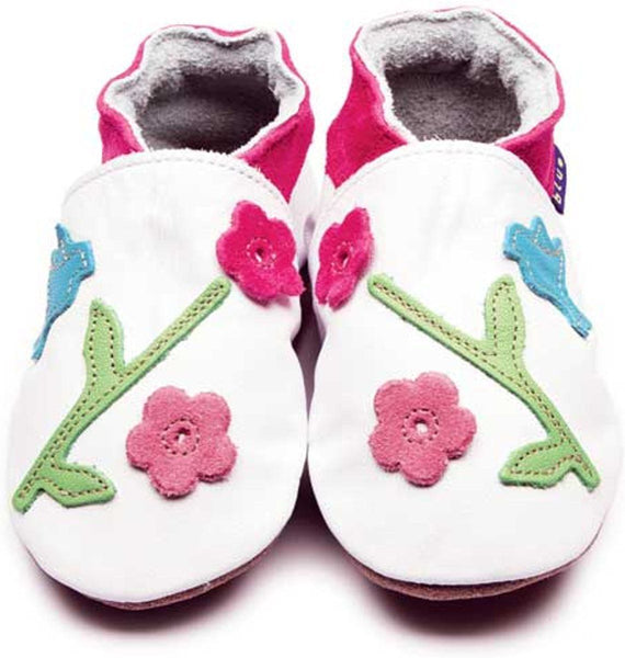 Inch Blue - Oriental Bird - Shoes - Bmini | Design for Kids