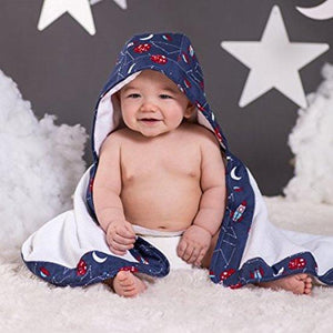 Bébé au lait - Hooded Towel - Apollo - Towel - Bmini | Design for Kids