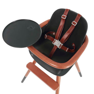 Micuna - Ovo City Luxe High Chair - with brown leatherette harness - High chair - Bmini | Design for Kids